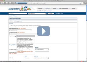 Screencast über die Möglichkeiten, seinen Über Mich-Bereich anzupassen.